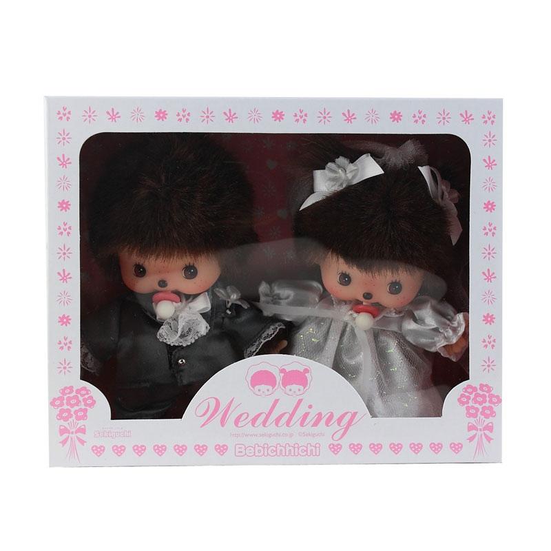 西式结婚礼盒 monchhichi