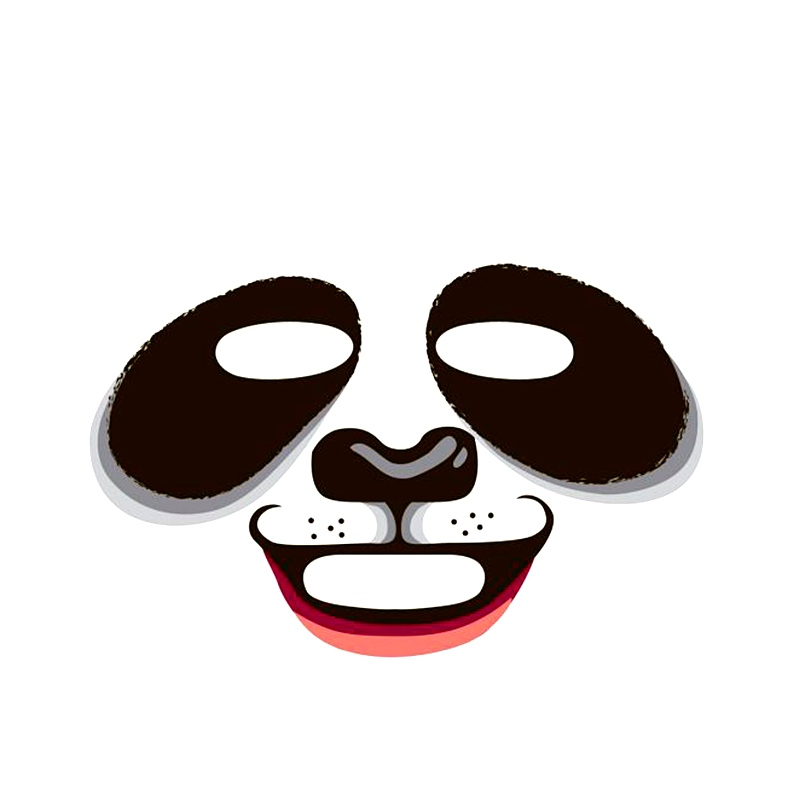 韩国snp膜补水保湿动物面膜熊猫/老虎面膜 10片
