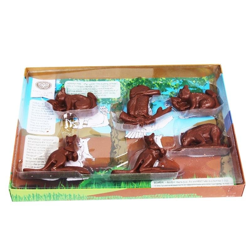 巧裹覆澳洲动物造型牛奶巧克力160g