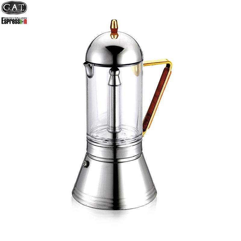 cristal oro金手柄水晶咖啡壶
