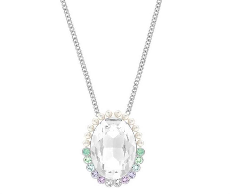 柔美水晶珍珠长项链