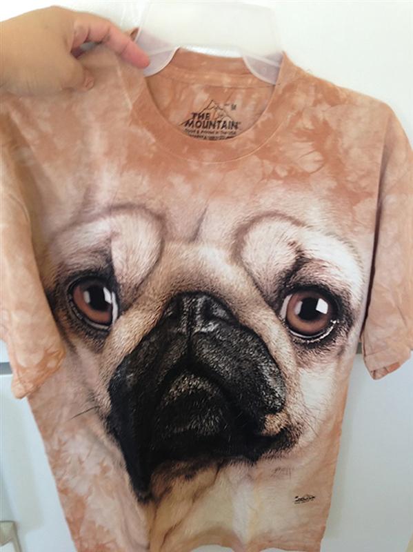 tm-动物头像男女 t恤