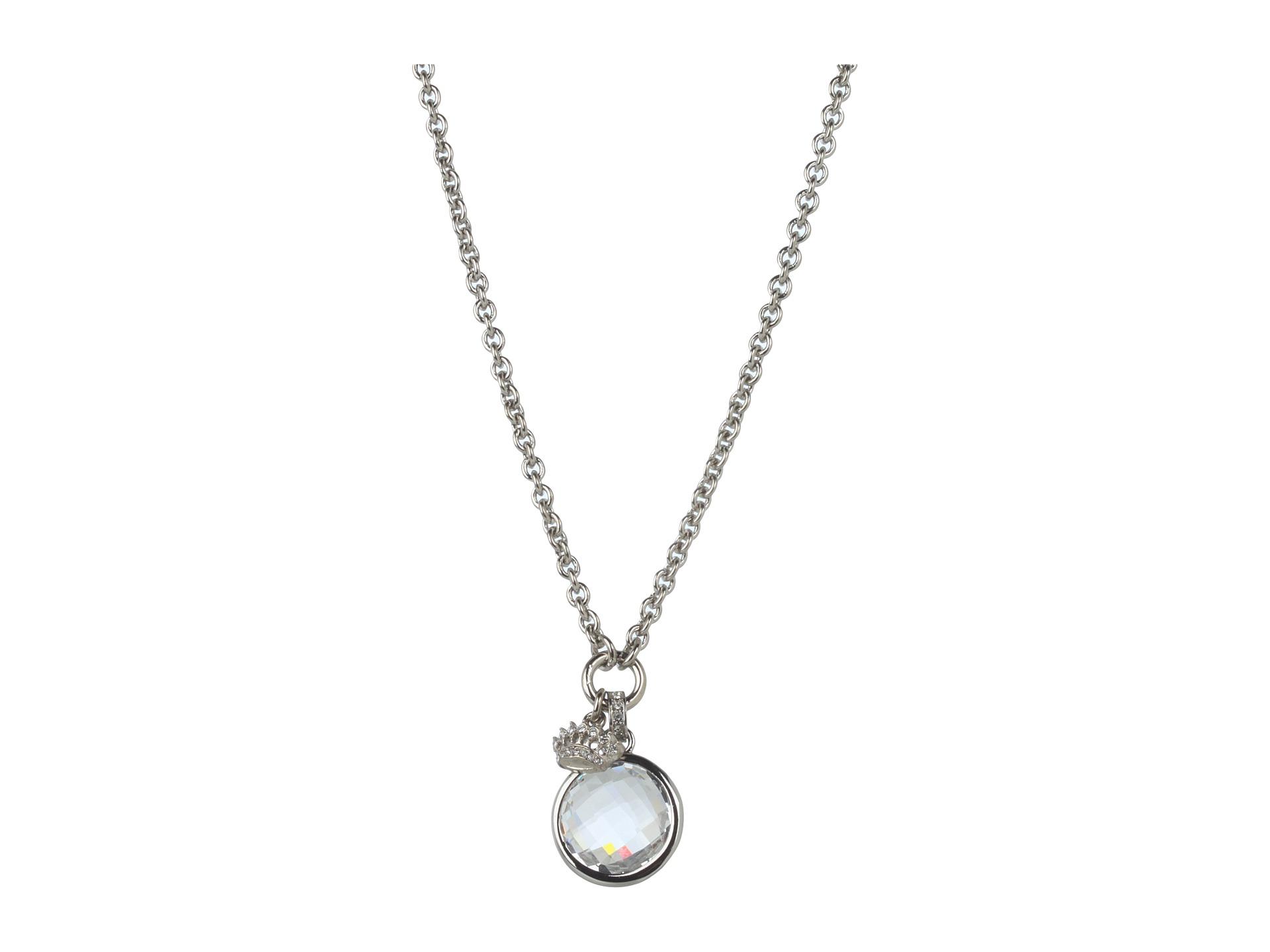 couture水晶月亮小皇冠项链带礼盒