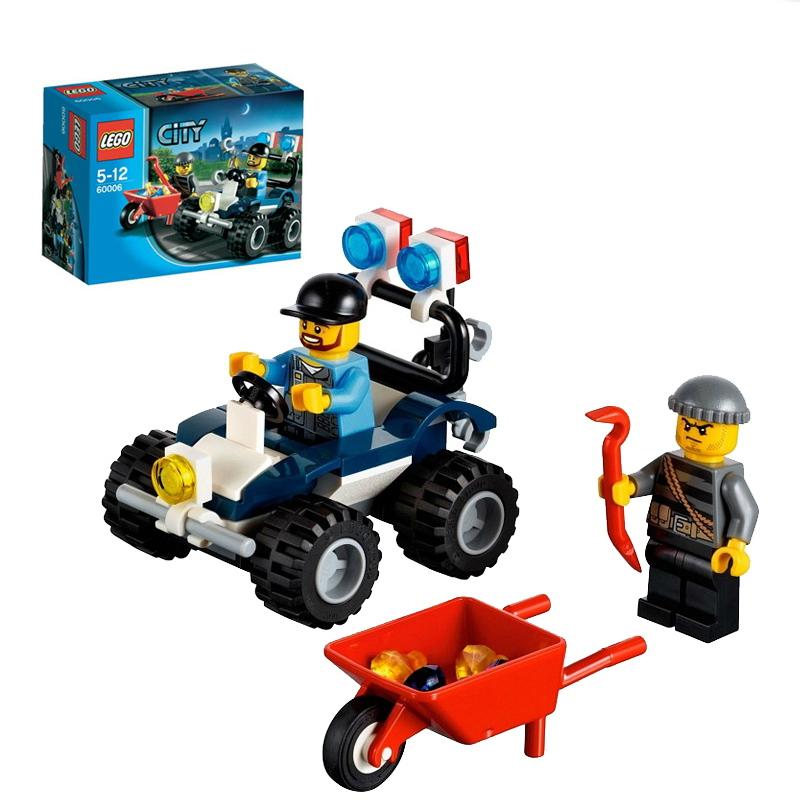 乐高/egao积木儿童益智拼装玩具城市消防系列l60006