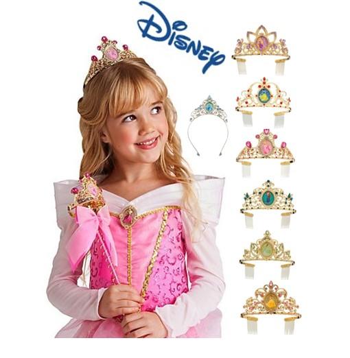 美国皇冠代购 正品迪士尼disney 可爱的迪士尼公主皇冠