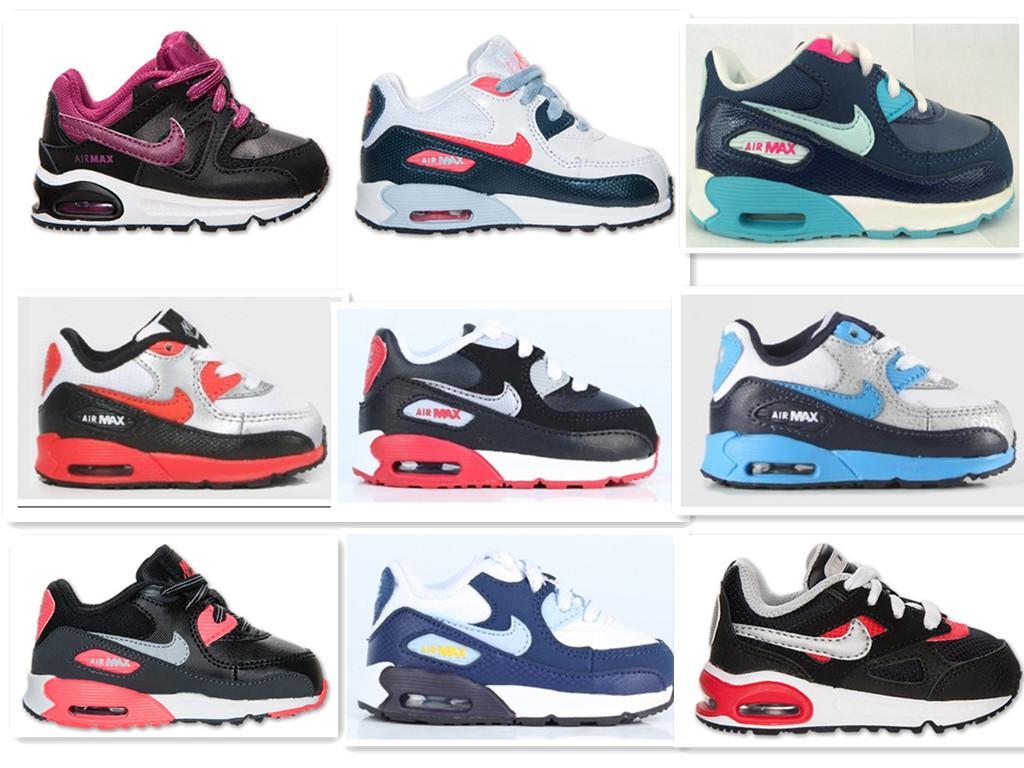 气垫跑步男女童鞋