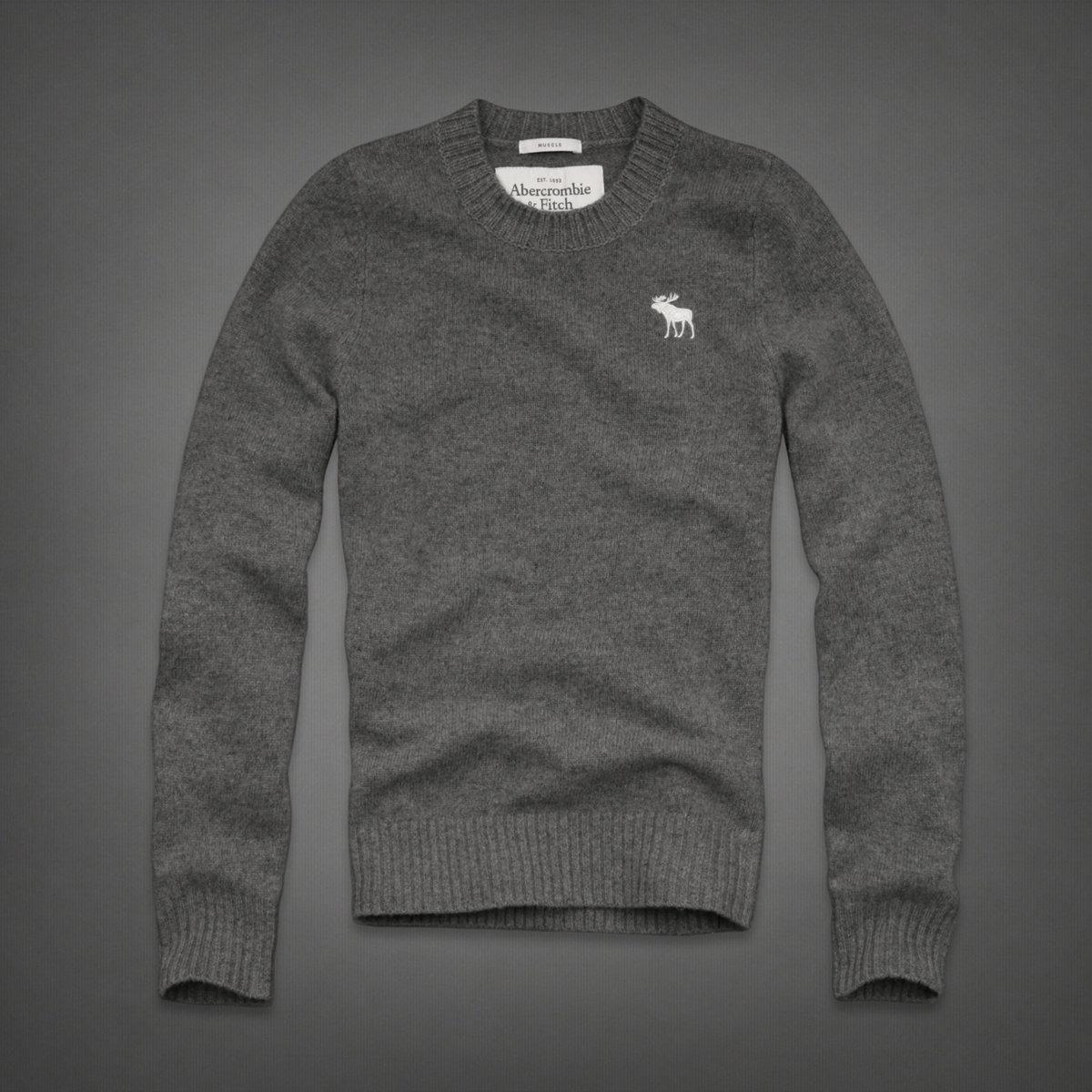 烟灰色毛衣搭配图片