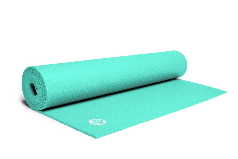 世界顶级瑜伽公司manduka青蛙瑜伽垫黑垫彩色薄版彩光