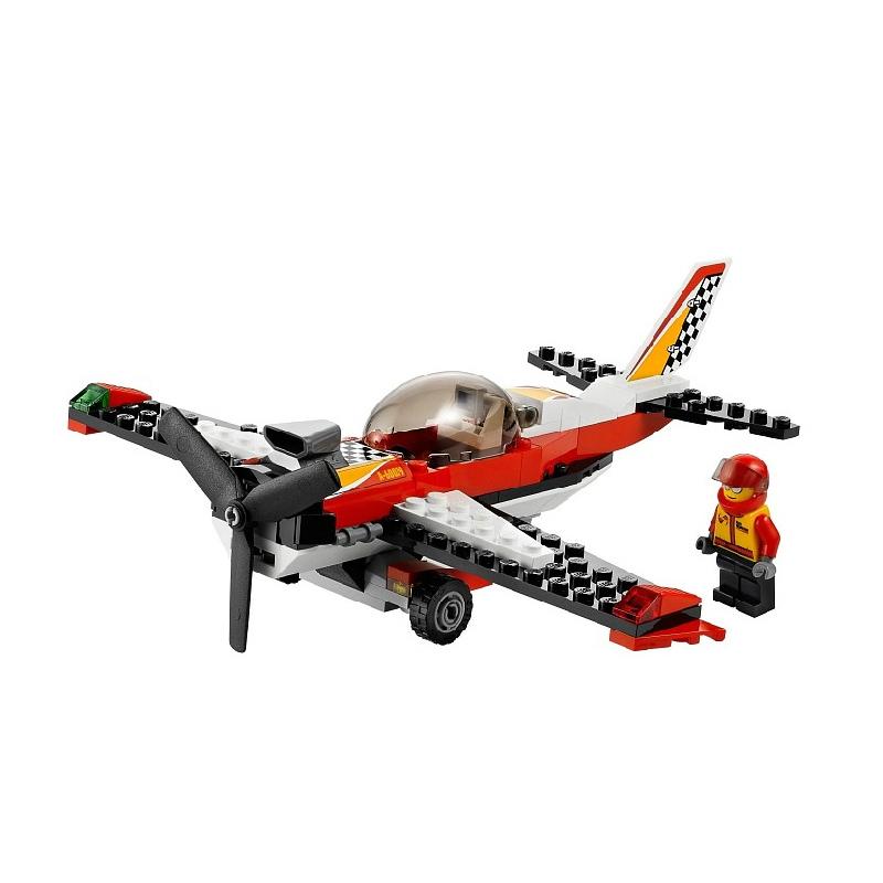 乐高/lego 益智拼插积木玩具 city城市系列 特技飞机l60019