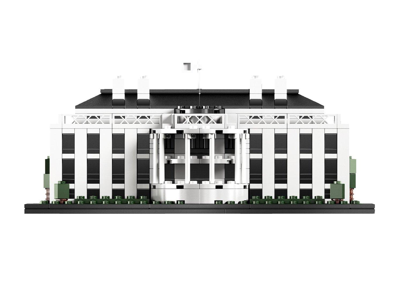 21006 白宫积木