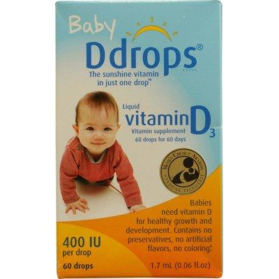 ddrops婴儿维生素d3滴剂/