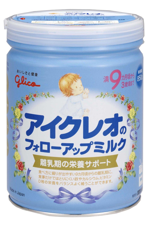 日本固力果glico配方奶粉850g