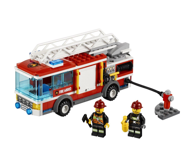 乐高消防车图片