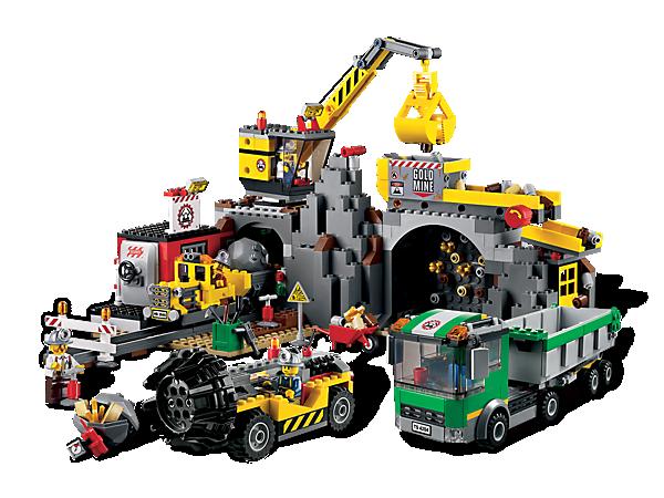 lego乐高拼装积木玩具城市系列采矿小颗粒乐高积木 6岁