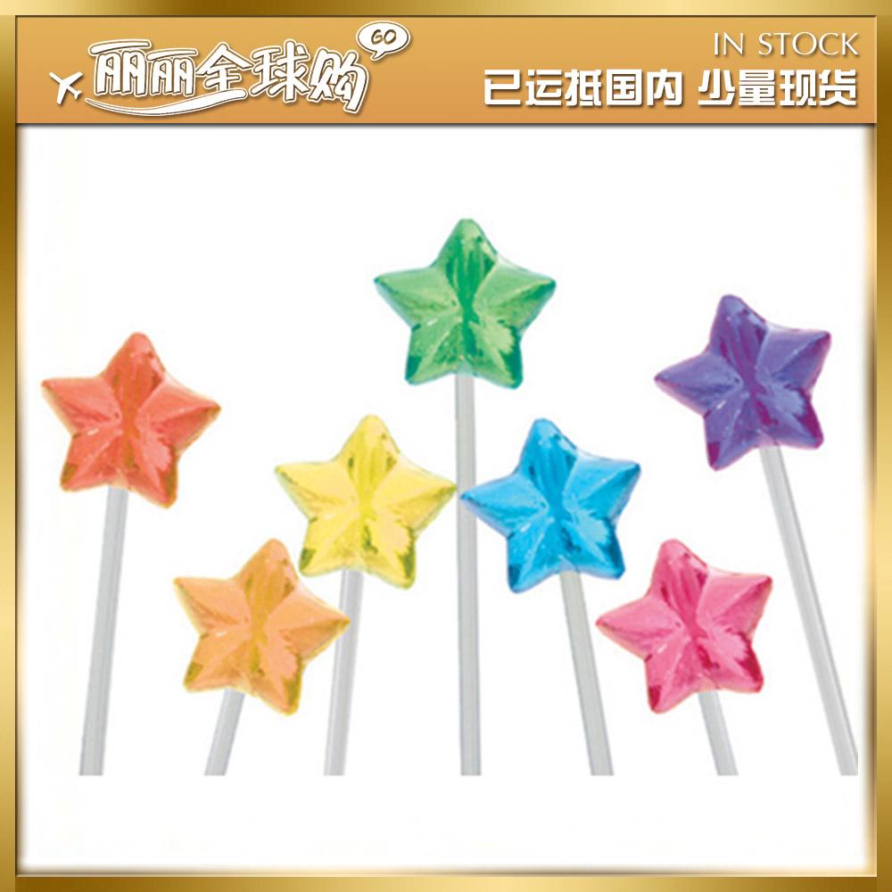 国内现货韩国twinkle candy闪亮闪烁星星形状棒棒糖果
