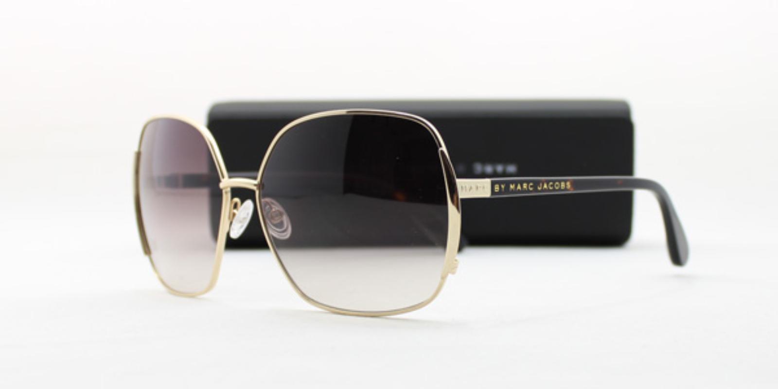 现货-正品MARC BY MARC JACOBS女士款 太阳眼镜大框墨镜MMJ 098