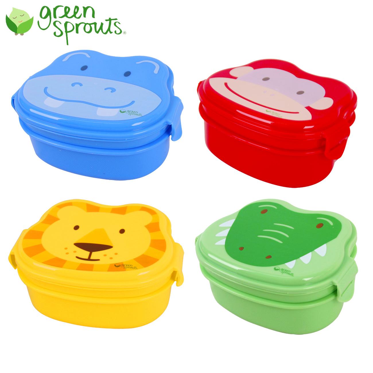 green sprouts 小绿芽 宝宝便携饭盒旅行餐盒出行儿童