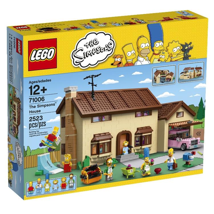 乐高lego 71006 辛普森的房子