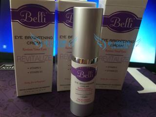 14年新包装美国belli孕妇专用眼霜 天然炫亮修复眼霜 滋润去黑眼圈