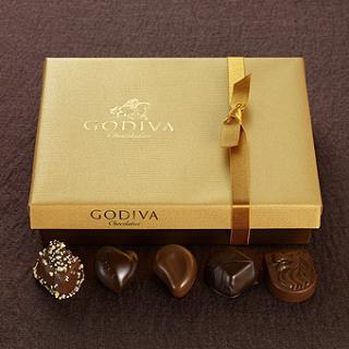 (美国直邮) Godiva Gold Ballotin 高迪瓦经典金色金装礼盒 19颗