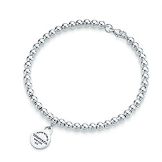 【美国直邮免邮税】Tiffany蒂芙尼女士Return to Tiffany™ 系列珠式手链