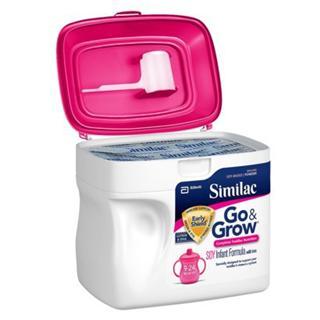 六桶包邮 Similac雅培 二段含铁大豆奶粉624g
