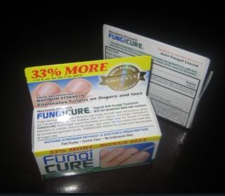 美国医生推荐-Fungicure 灰指||脚气药 40ml