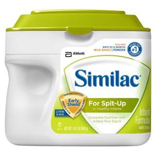 美国直邮Similac Sensitive雅培 1段 防敏感原 防吐配方奶粉 658g