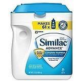 美国雅培Similac Advance金盾一段奶粉 963克(950元3罐价3罐起直邮