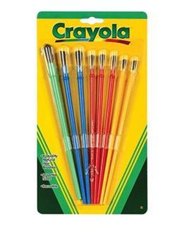 【代购直邮】美国进口Crayola绘儿乐 幼儿童画笔/画刷 8支装