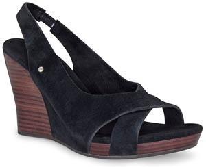 澳洲直邮 7天送达正品UGGAustralia 夏季坡跟凉鞋 包邮