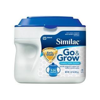 美国直邮Similac雅培二段9-24个月金盾配方奶粉 624克 经典罐装免