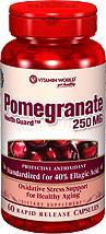 免运费!包美国直邮Vitamin World 红石榴精华营养胶囊 60粒 美容
