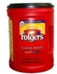 包美国直邮!福爵Folgers Classic Roast经典烘焙咖啡1.36kg