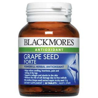 Blackmores精装葡萄籽精华 30粒装 美白抗氧化防辐射 2个起邮
