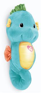 (美国直邮)原装正品Fisher-Price费雪音乐声光安抚小海马 胎教玩具