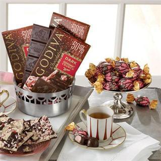 (美国直邮)GODIVA 高迪瓦巧克力排块组合3块或4块组合套餐