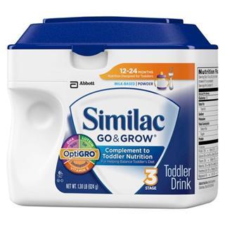Similac雅培三段奶粉12-24个月 624克 (3罐起包邮)