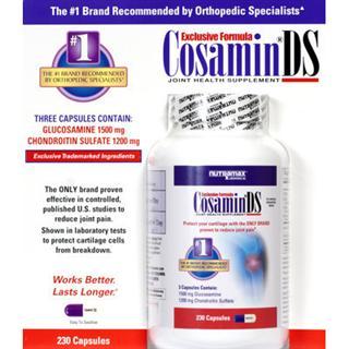 包美国直邮! Cosamin DS 顶级维骨力美国骨科专家推荐 230粒