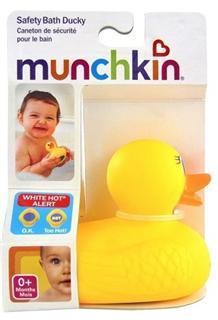 munchkin 麦肯奇 洗澡感温小鸭子 宝宝洗浴玩具