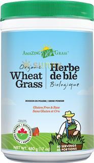 免运费!包美国直邮Amazing 天然神奇小麦草粉排毒清肠抗衰老480g