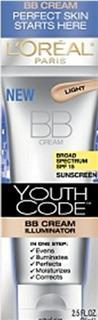 美国 L'oreal Youth Code 欧莱雅青春密码BB霜SPF15 75ML