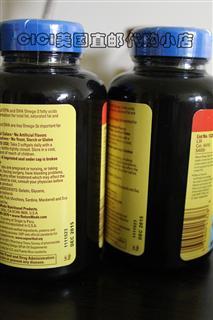 【代购直邮】Nature Made Fish Oil 深海鱼油 120mg 120粒2瓶