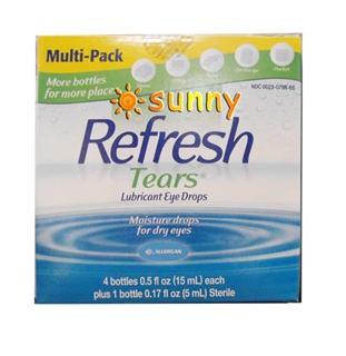 免运费!包美国直邮Refresh Tears 润滑眼药水 无防腐剂 超值装