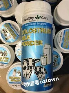 澳洲Healthy Care 牛初乳粉 增强免疫力 300g