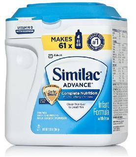 美国直邮 similac雅培 一段 金盾奶粉 963克 0-12个月宝宝适用