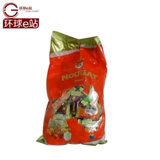 澳洲特产 高端进口糖 Golden Boronia金宝乐牛轧糖杏仁混合味 1kg