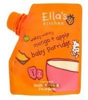 英国ELLA'S KITCHEN 有机苹果和芒果婴儿米糊1段4+ 125克 英国直邮