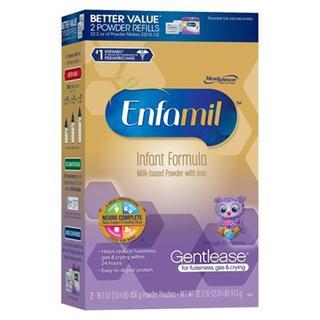 Enfamil美赞臣一段抗过敏防胀气奶粉补充装913克(2盒包邮)