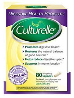 美国直邮 Culturelle 益生菌家庭装胶囊型 80粒 缓解湿疹便秘腹泻